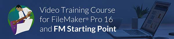 FileMaker 16 Video Course